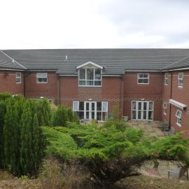 Purpose built care home registered for 40