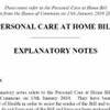 Care at home bill