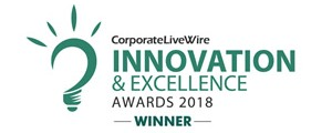 CorporateLiveWire Innovation & Excellence Awards 2018 - Winner