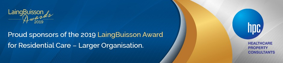 LaingBuisson Awards - Proud Sponsors of the 2018 LaingBuisson UK Healthcare Award for Housing With Care
